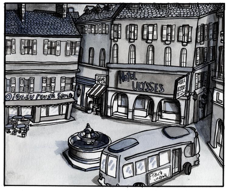 La Tenatrice, 1970
